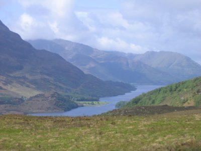 Randonnée Loch leven