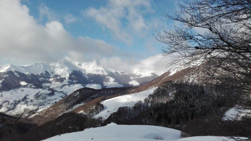 rando raquette vallée de Mandailles