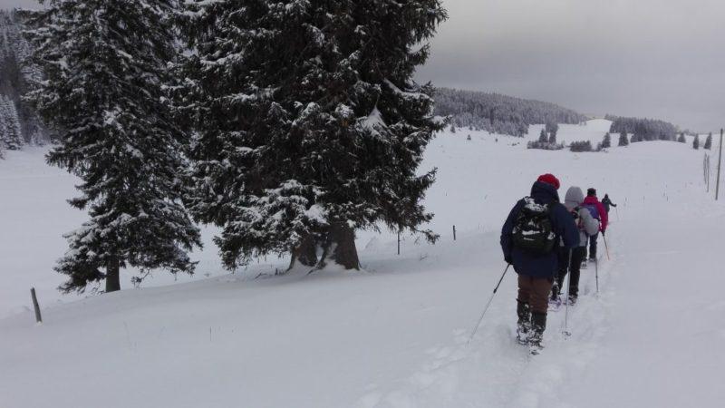 Rando raquette Vallée de Joux